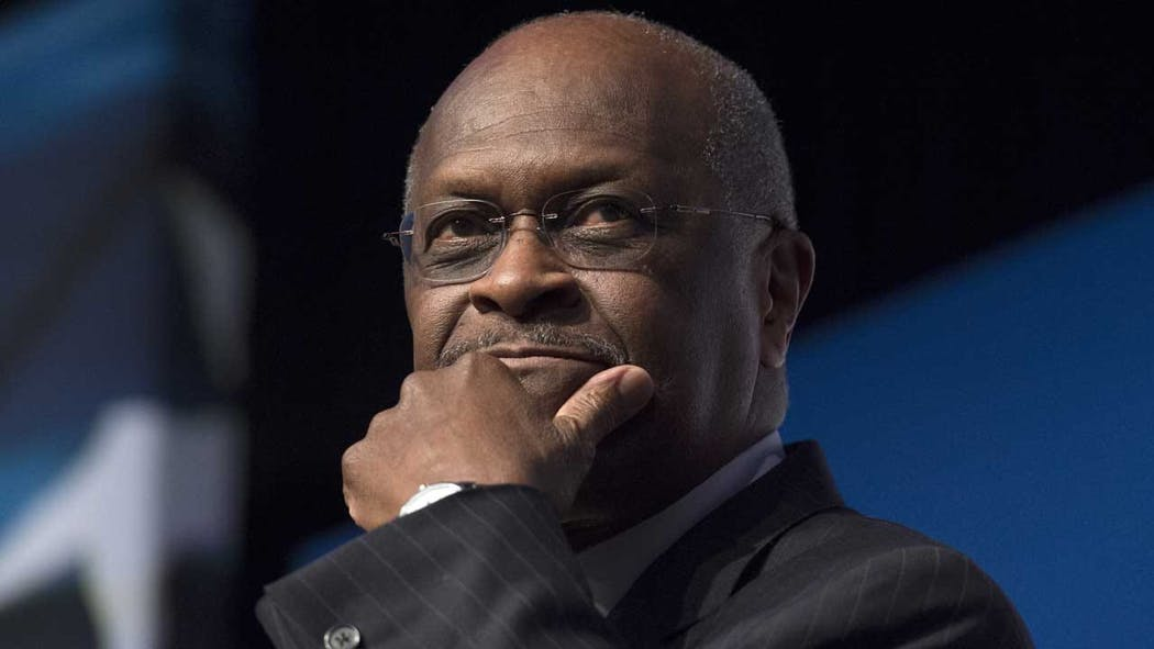 Herman Cain Withdraws From Consideration For Fed, Trump Says