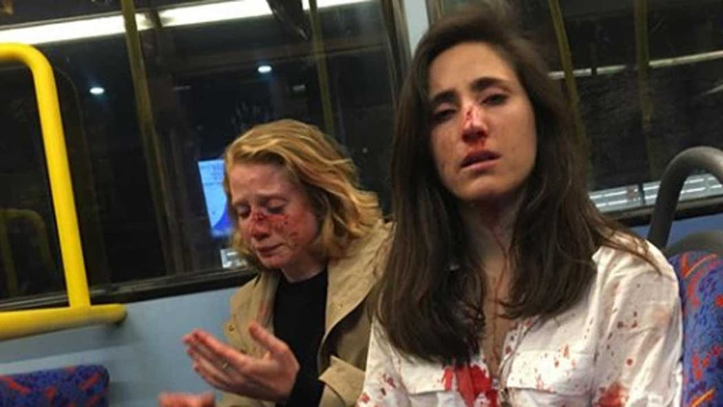 Lesbian Couple Brutally Beaten By Group Of Men On Bus In London