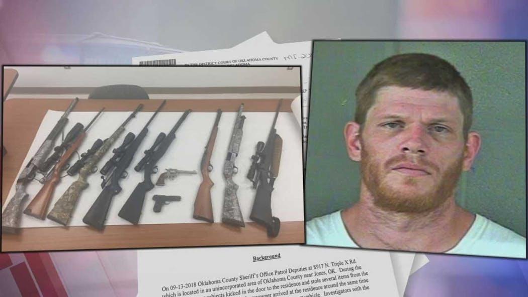 Man Wanted, Accused Of Burglarizing Oklahoma County Couple's Home