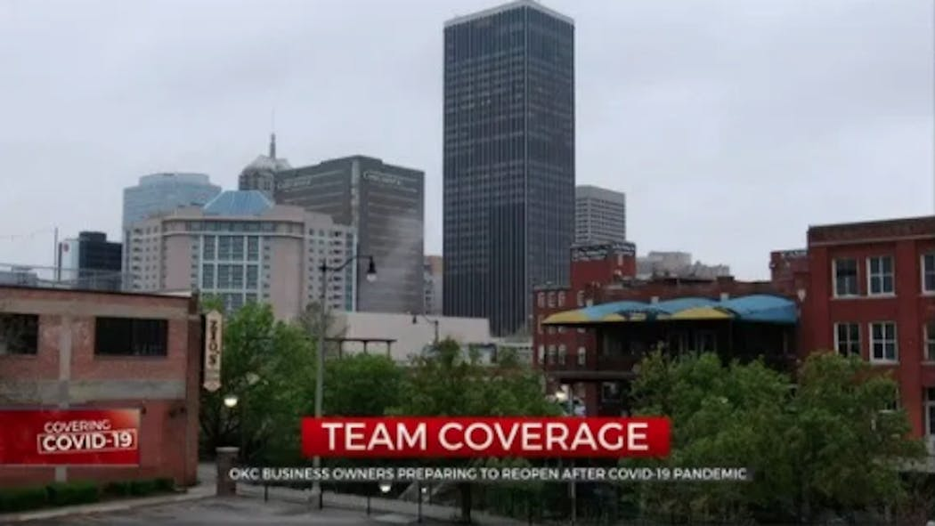 Downtown Oklahoma City Businesses, Non-Profits Prepare To Reopen
