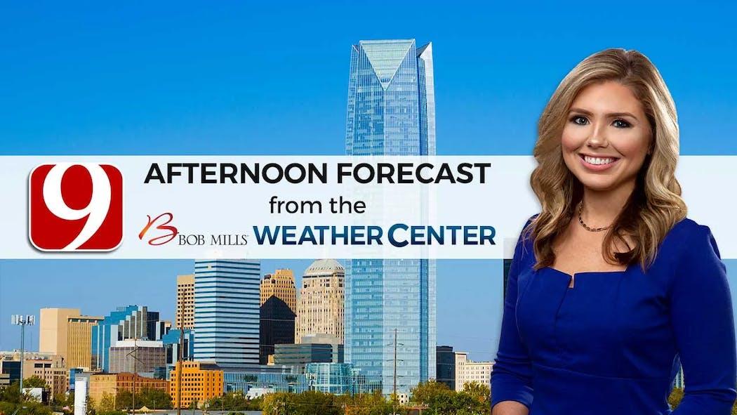 Cassie Heiter Afternoon Forecast