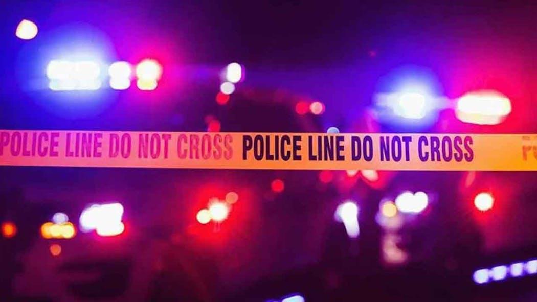 Police Lights Generic With Crime Scene Tape