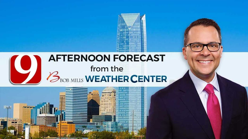 Justin Afternoon Forecast