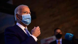 Biden Says He Plans To Ask Americans To Wear Masks For His First 100 Days In Office