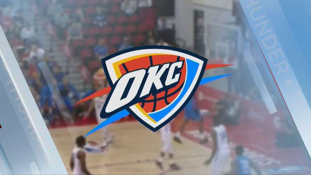 OKC Thunder Logo Dec. 9, 2020
