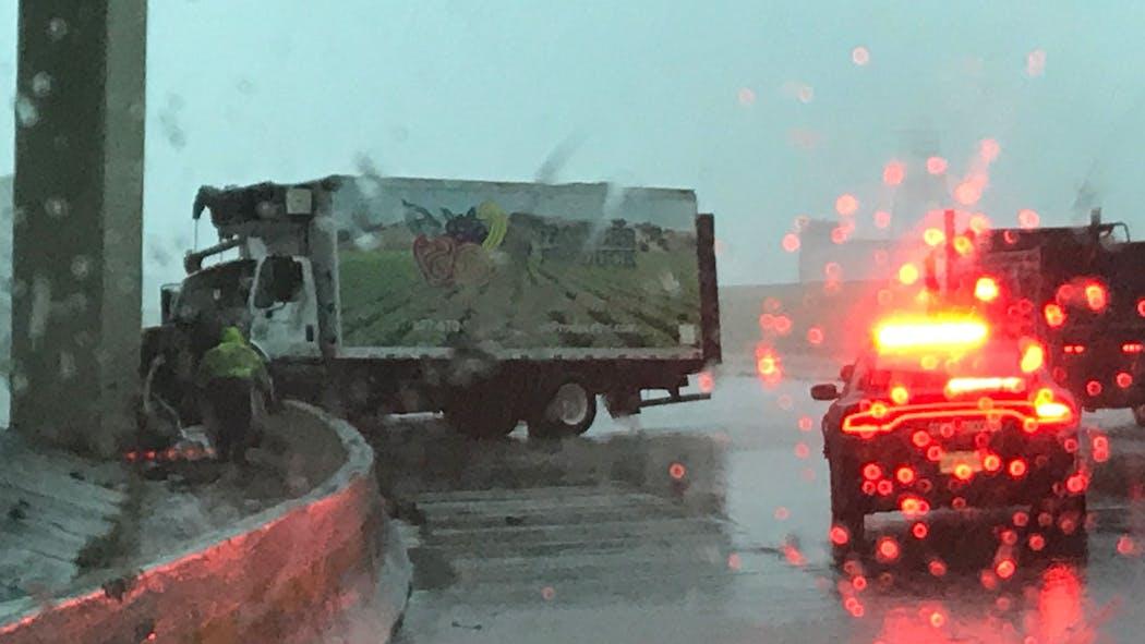 I-40 Westbound Accident