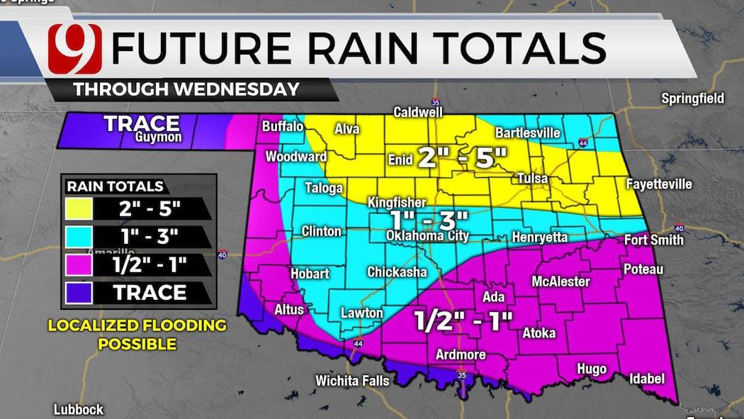 Future Rain Totals