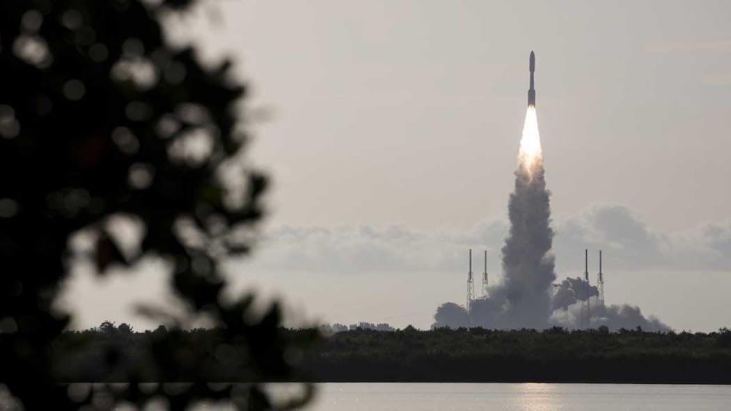 NASA Mars rover launch