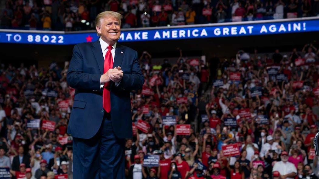 Trump rally in Tulsa