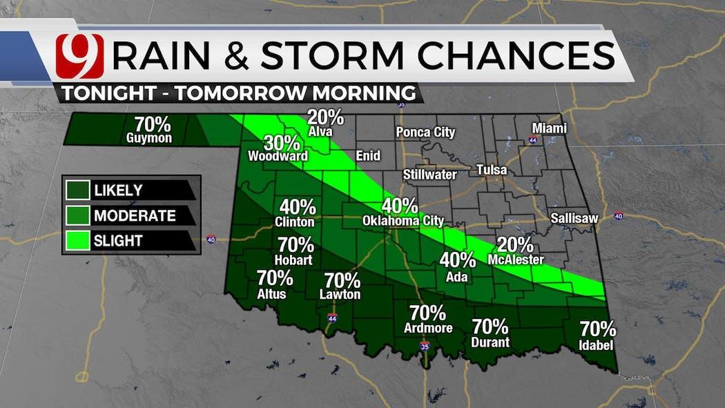 Rain Storm Chances 2
