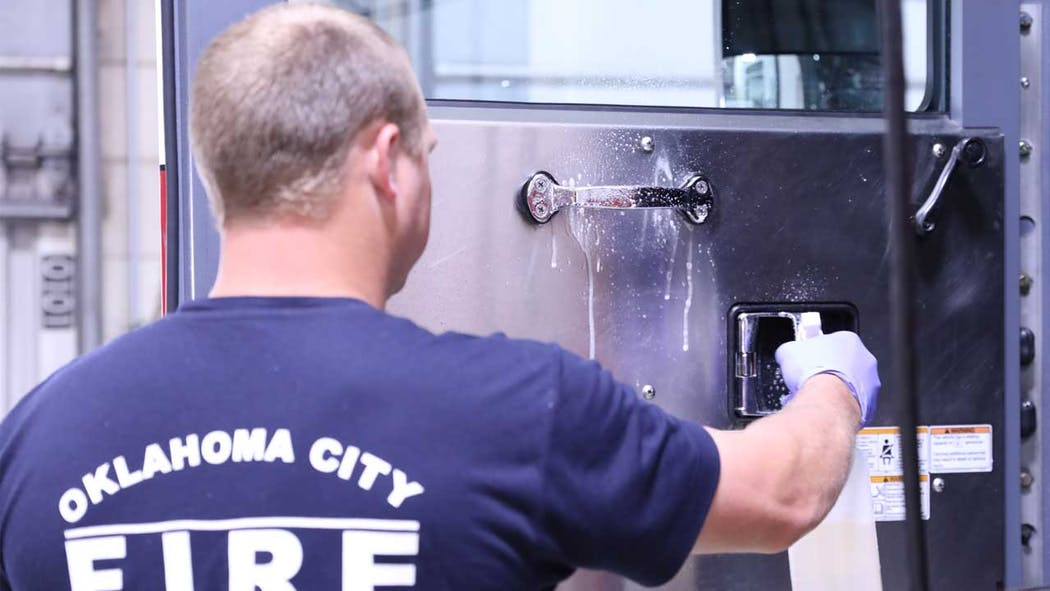 OKCFD cleaning