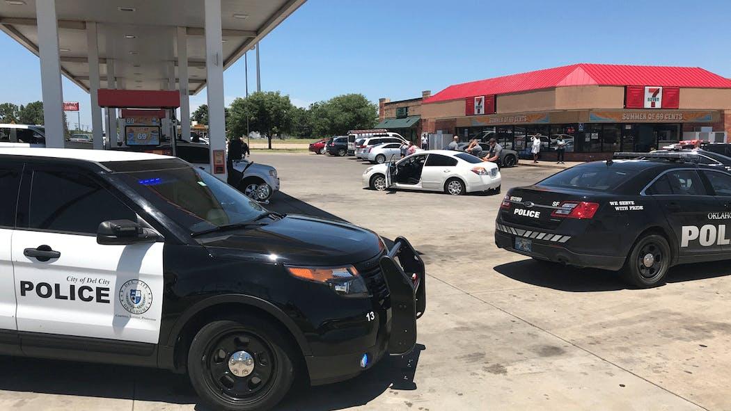 Police chase SE OKC on June 24, 2020