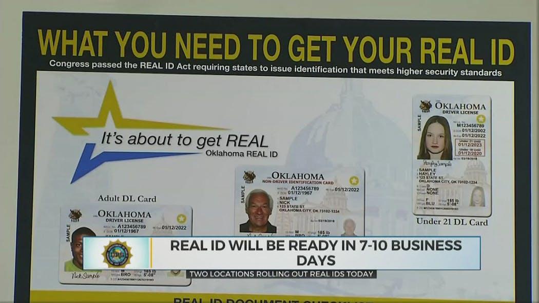 Real ID- Oklahoma