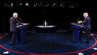 President Trump, Biden Fight Over COVID-19, Climate & Race