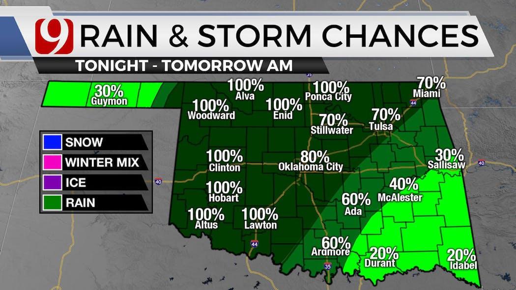 Rain Storm Chances