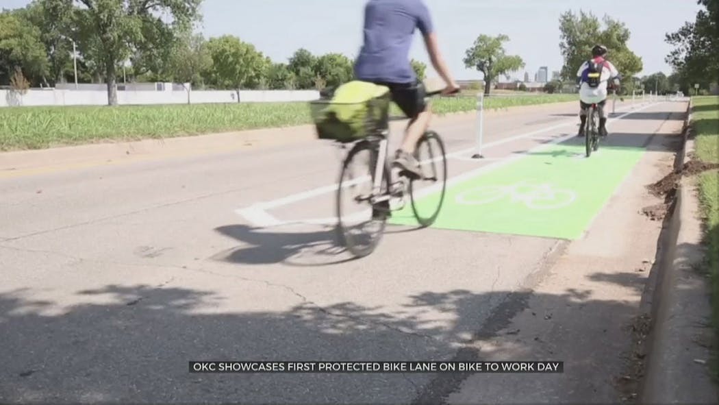 OKC Bike Lane