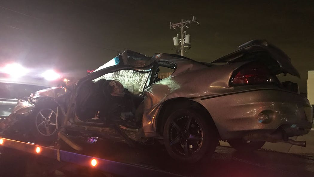 Mustang Fatal Collision Sept. 27, 2020