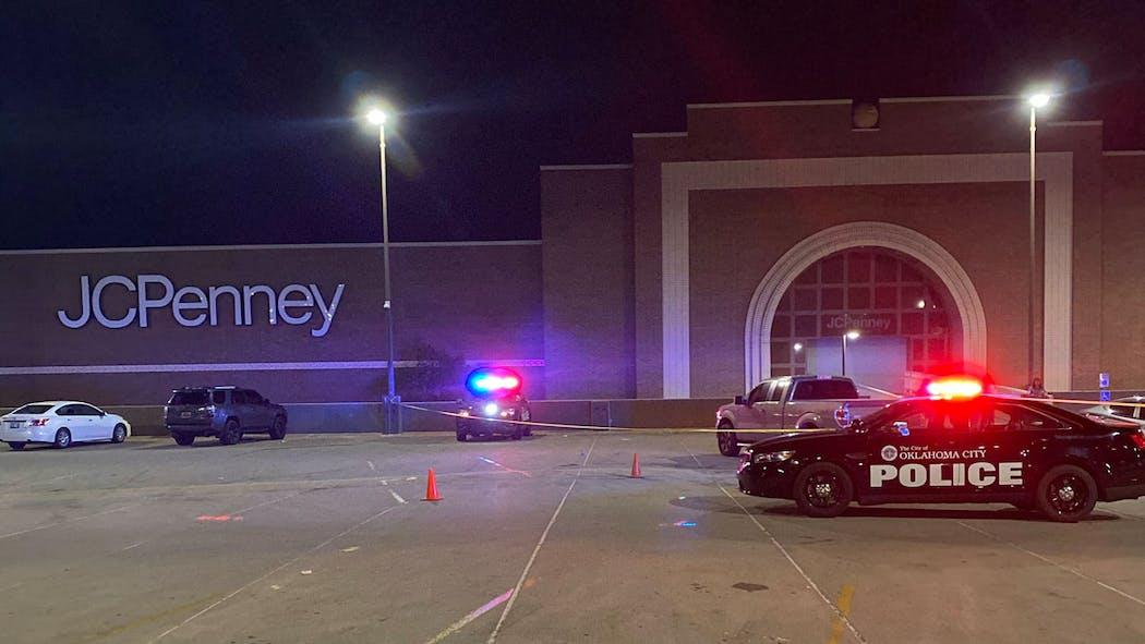 Penn Square Mall Garage Shooting April 10, 2021
