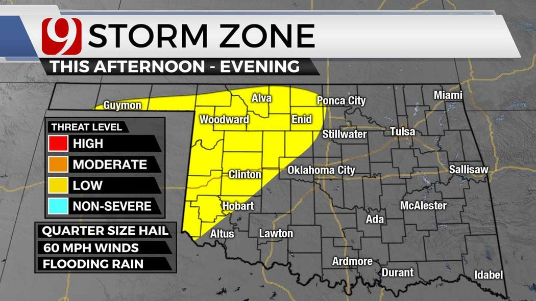 Storm zone for 8-16-21