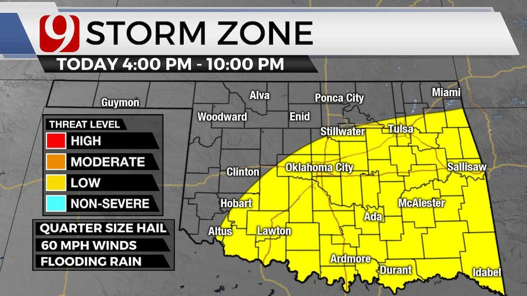 Storm zone for 8-17-21