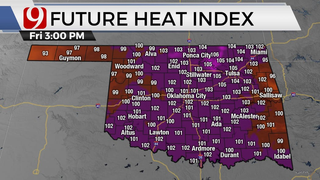 heat indexes