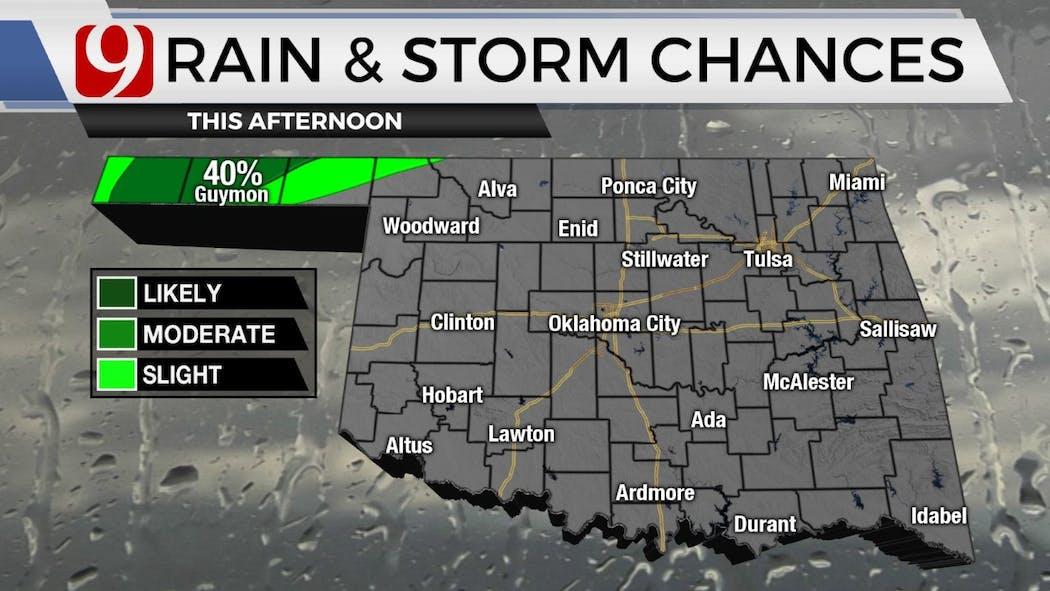 rain chances