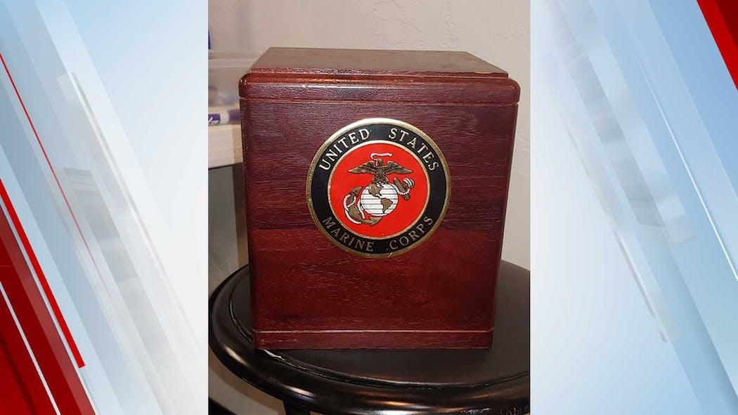 US Marine Corps shadow box found