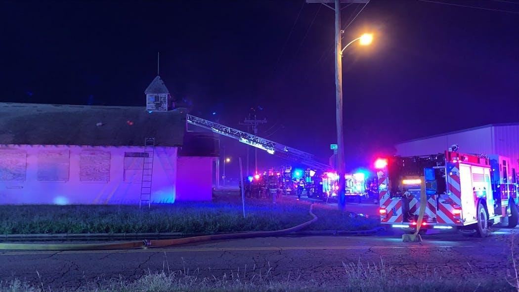 Downtown OKC fire Aug. 25, 2021