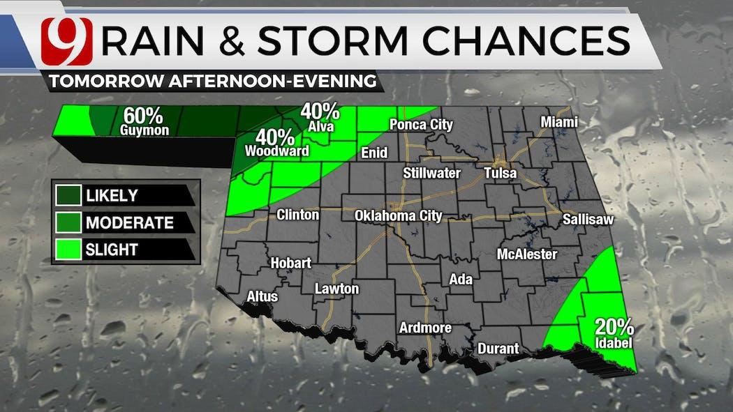 Sat Storm Chances