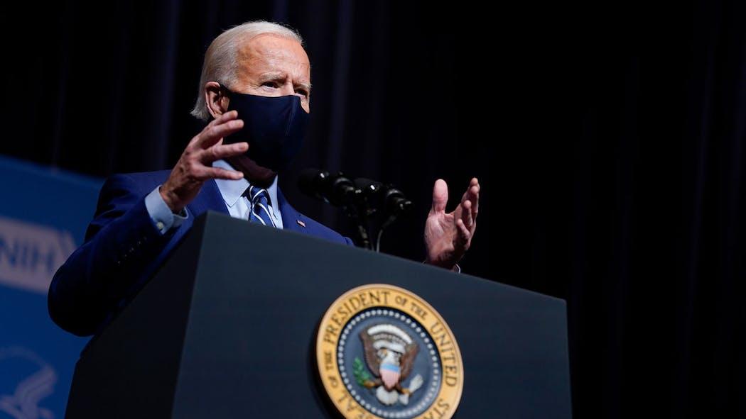 Joe Biden Feb. 11, 2021