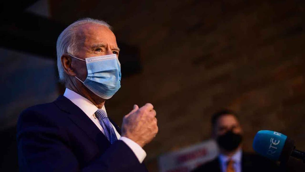 Joe Biden Wearing A Mask Generic 2020