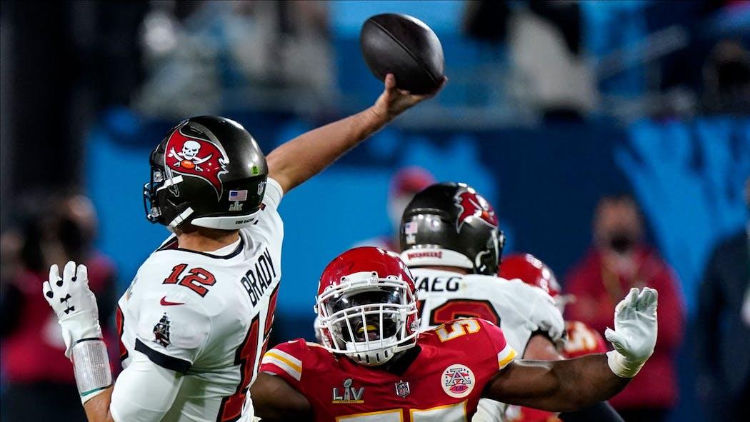 Chiefs vs. Buccaneers Super Bowl LV Feb. 7, 2021