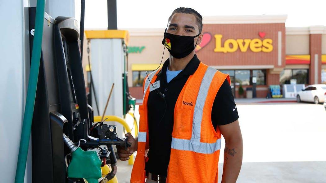 Love's Travel Stop employee