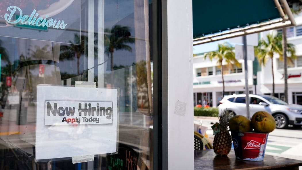 Now Hiring Sign Jobs Dec. 2020