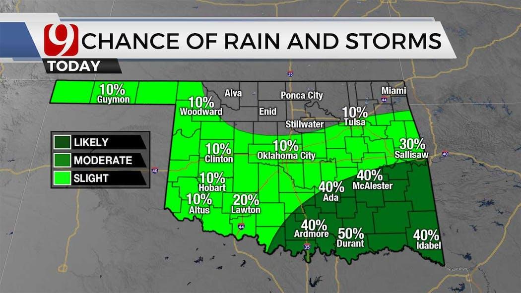 rain chances for 7-27-21