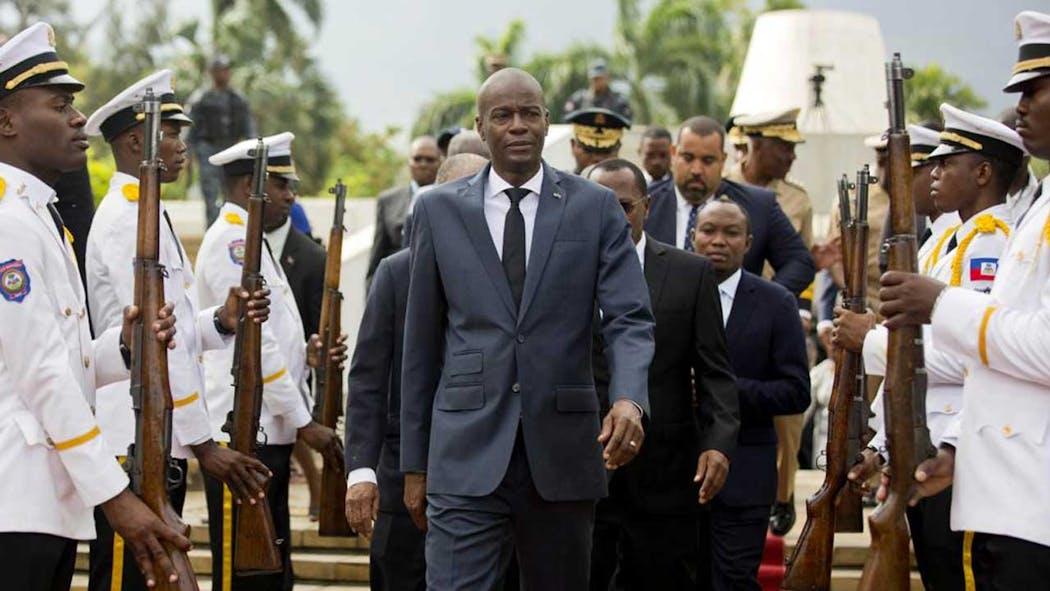 Haiti President Jovenel Moise in 2018