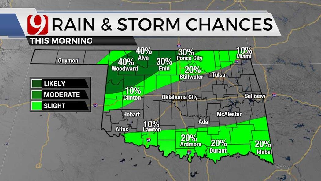 rain and storm chances 7-7-21