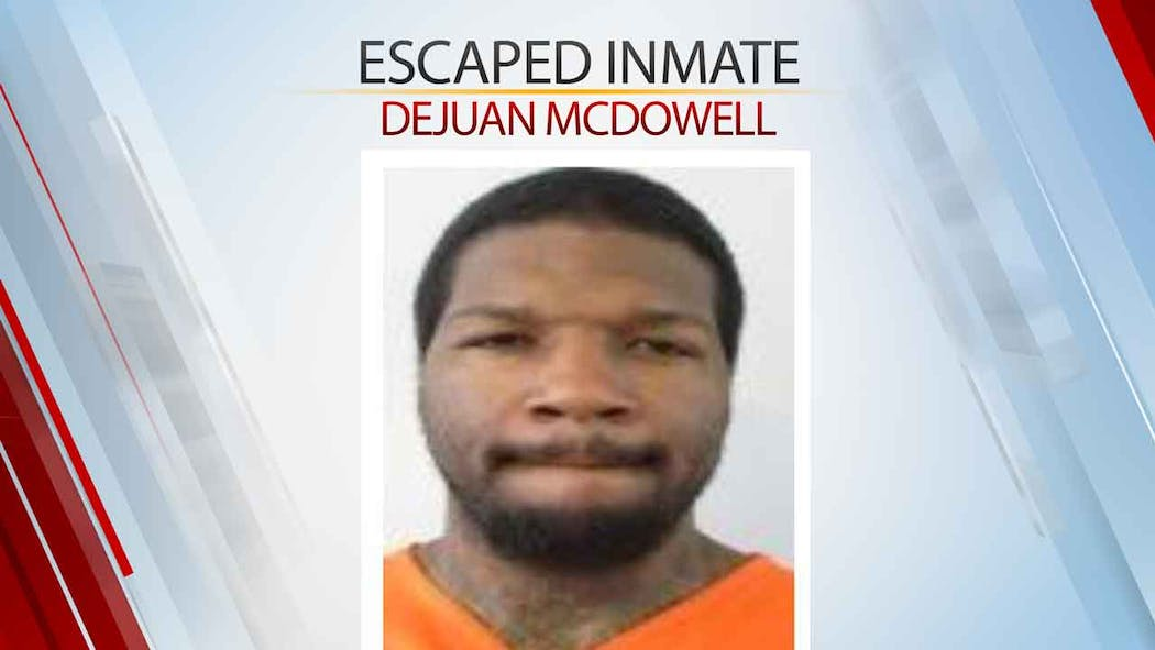 Dejuan McDowell Escaped Inmate