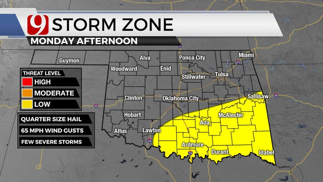 storm zone for 6-21-12