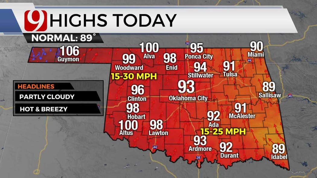 highs for 6-23-21