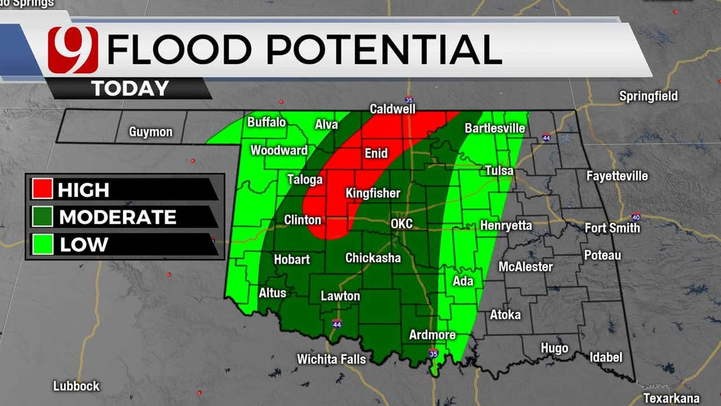 flood potential for 6-29-21