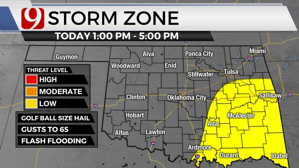 Storm zone for 6-7-21