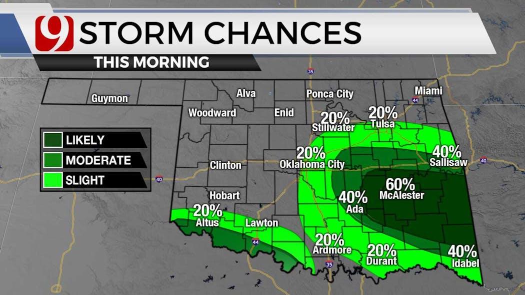 storm chances morning 6-8-21