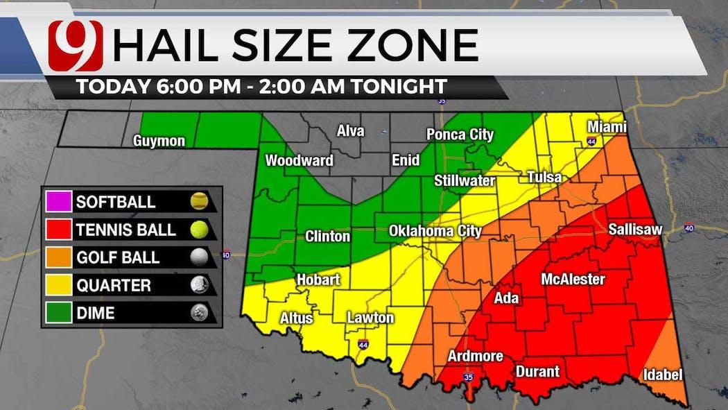 Hail size zone 5-3-21