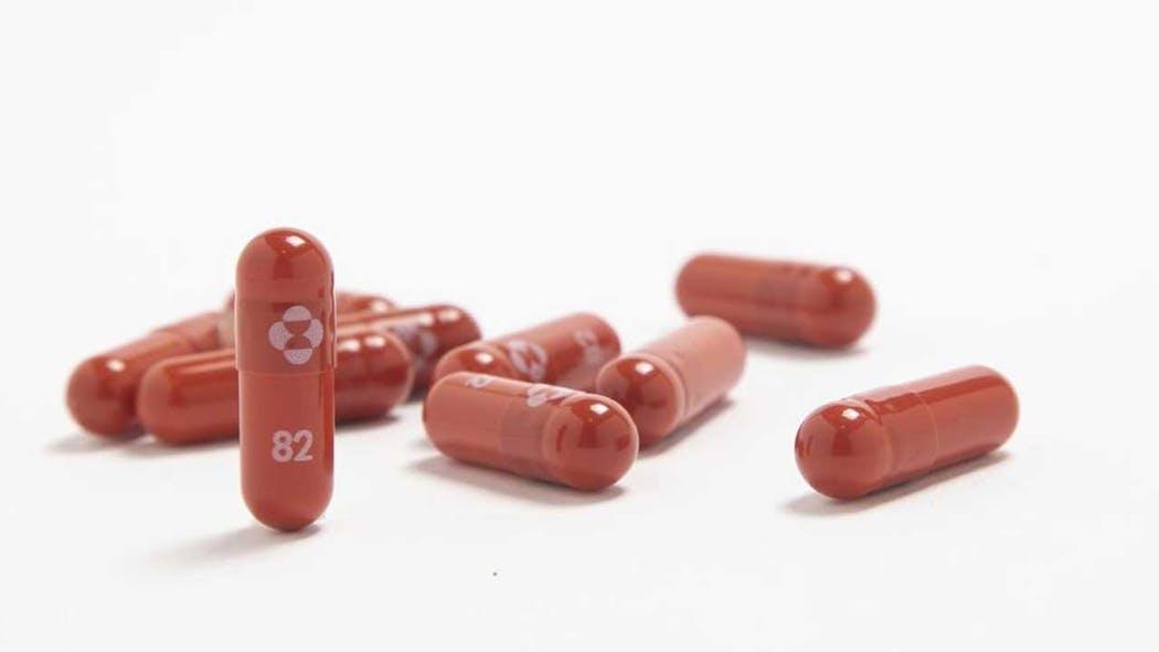 Merck antiviral pills for COVID