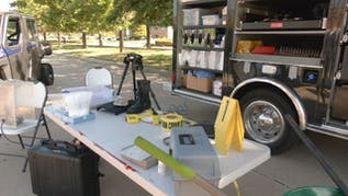 How The FBI's Evidence Response Team Put Its Tools To Work At Crime Scenes
