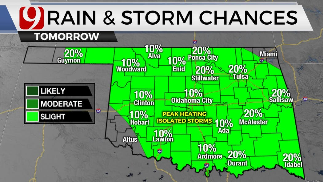 rain storm tomorrow