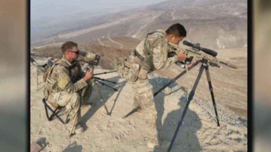Army Sniper's Stolen Truck