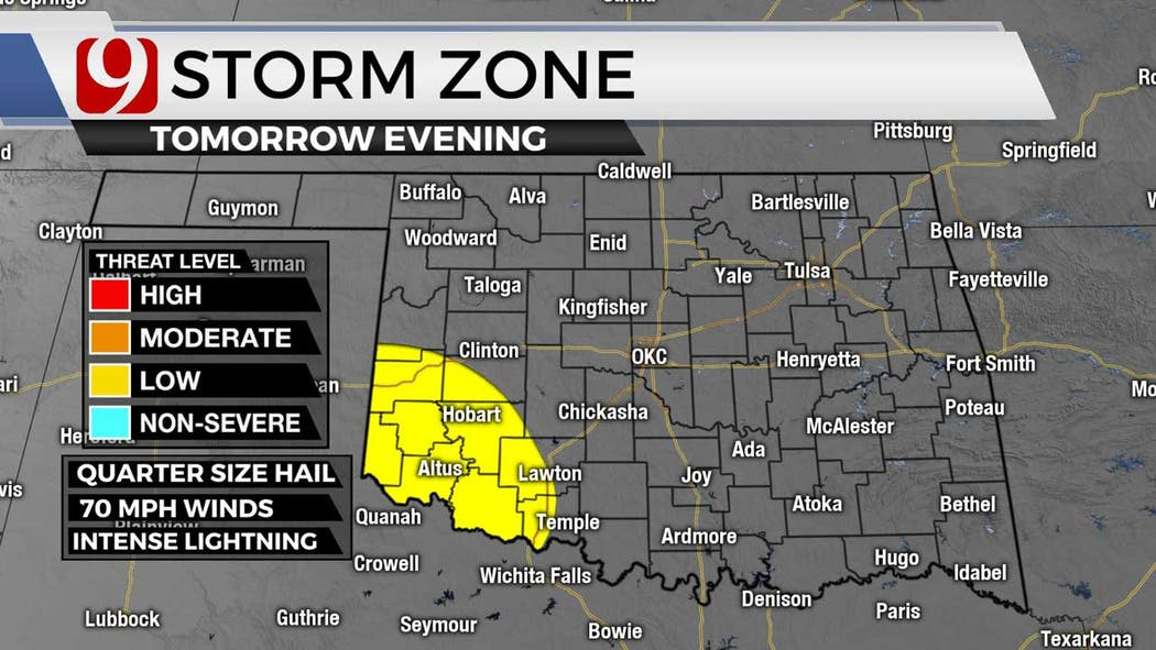 Storm zone for 9-27-21