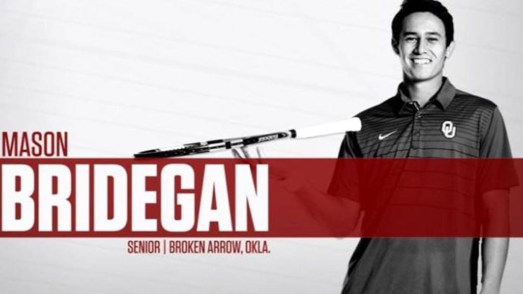 Mason Bridegan OU Tennis